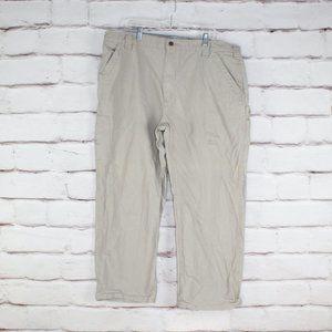 Carhartt Tan Dungaree Fit Trouser Pants Size 42X30